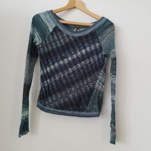 Free People Wool Blend Small Sweater.